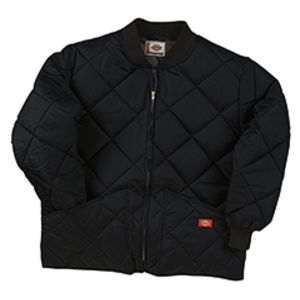 Diamond Quilted Nylon Jacket Thumbnail