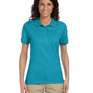 Ladies' 5.6 oz. SpotShield™ Jersey Polo Thumbnail