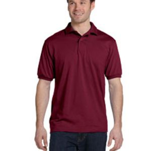 Adult 5.2 oz., 50/50 EcoSmart® Jersey Knit Polo Thumbnail