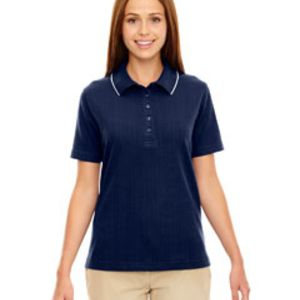 Ladies' Edry® Needle-Out Interlock Polo Thumbnail