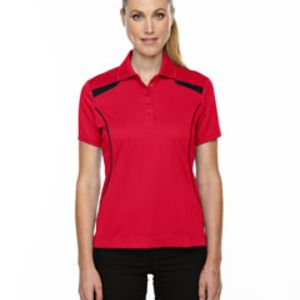 Ladies' Eperformance™' Tempo Recycled Polyester Performance Textured Polo Thumbnail