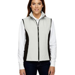 Ladies' Three-Layer Light Bonded Performance Soft Shell Vest Thumbnail