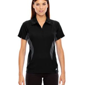 Ladies' Serac UTK cool?logik™ Performance Zippered Polo Thumbnail