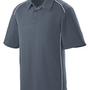 Adult Wicking Polyester Sport Shirt with Contrast Piping Thumbnail