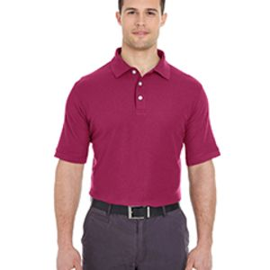 Men's Platinum Honeycomb Piqué Polo Thumbnail