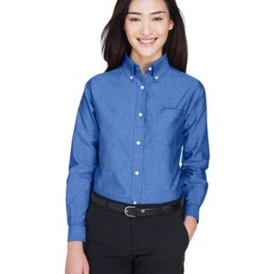 Ladies' Classic Wrinkle-Resistant Long-Sleeve Oxford Thumbnail