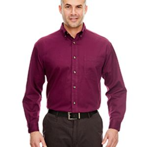 Adult Cypress Long-Sleeve Twill with Pocket Thumbnail