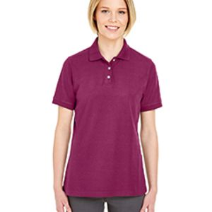 Ladies' Platinum Honeycomb Piqué Polo Thumbnail