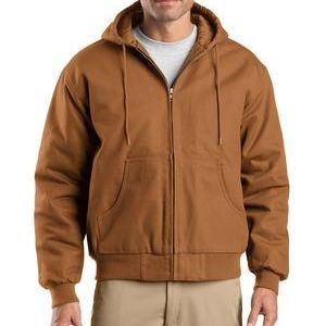Tall Duck Cloth Hooded Work Jacket Thumbnail